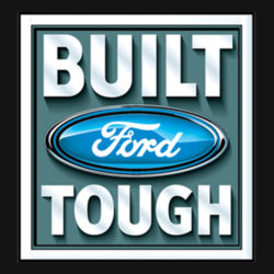 Built Ford Tough - Ladies Perfect Blend T Design