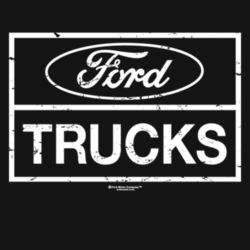 Ford Trucks - Ladies Perfect Blend T Design