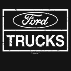 Ford Trucks - Adult Premium Blend T Design
