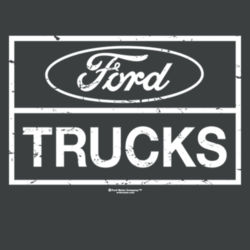 Ford Trucks - Ladies Tri-Blend Racerback Tank Design