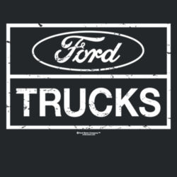 Ford Trucks - Adult Fan Favorite Crew Sweatshirt Design