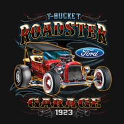 T-Bucket Roadster - Ladies Perfect Blend T Design