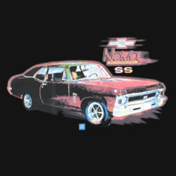 Chevy Nova - Ladies Perfect Blend T Design