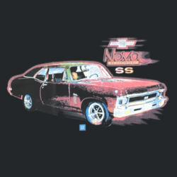 Chevy Nova - Adult Fan Favorite Hooded Sweatshirt Design