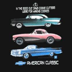 Chevy Classics - Ladies Perfect Blend T Design