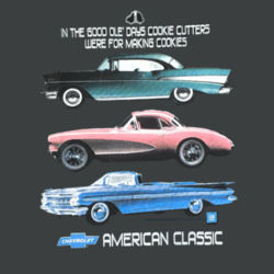 Chevy Classics - Ladies Tri-Blend Racerback Tank Design
