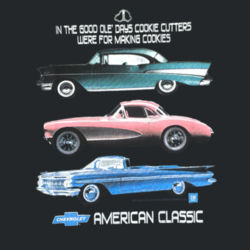 Chevy Classics - Ladies V-Neck T Design