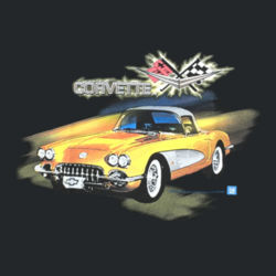 Classic Corvette - Adult Fan Favorite T Design