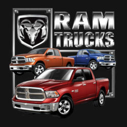 Ram Trucks - Ladies Perfect Blend T Design