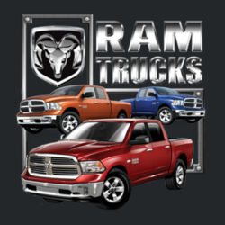 Ram Trucks - Adult Fan Favorite Hooded Sweatshirt Design