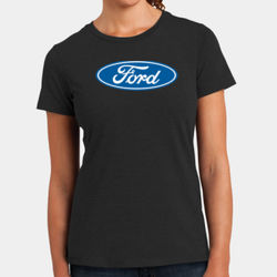 Ford Logo - Ladies Perfect Blend T Thumbnail