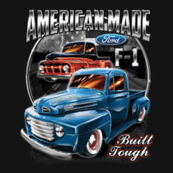 American Made - Ladies Perfect Blend T Design